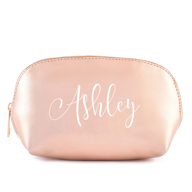 2019 Personalised Bridesmaid Gift Make Up And Swimsuit Waterproof Bag Maid Of Honour Gift - Unique Gift For Bridal Party Custom
