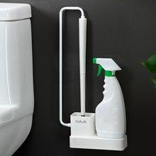 Креативная щетка для унитаза, очистка от загрязнения, набор кистей для ванной комнаты, настенные аксессуары для туалета, 22*6,5*45 см