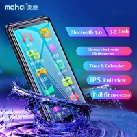 Mahdi M9 MP4 Player Bluetooth 5.0 Touch Screen 3.5 inch HD HIFI 8GB Music MP4 Player Support VideoTF Card With Speaker