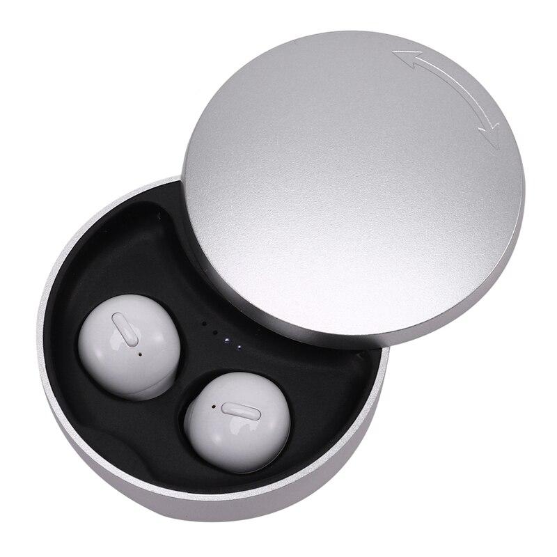 Auriculares inalámbricos TWS X21S Bluetooth 5,0 con reducción de ruido, auriculares binaurales de llamada HD, miniauriculares invisibles con estuche de carga Orejera electrónica táctica caliente para disparar deportes al aire libre, auriculares antiruido, auriculares de protección auditiva de amplificación de sonido de impacto