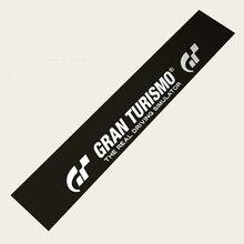 Samochodowe stylowe naklejki samochodowe przednia szyba naklejki okienne na Gran Turismo GT symulator jazdy konkurs D1