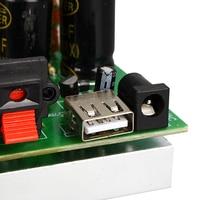 diy car TDA7056 Power Amplifier Board 2*25W 2.0 Channel Stereo Digital Audio DIY Amplifiers USB Charging For Car Home Theater DC 12V-15V (5)