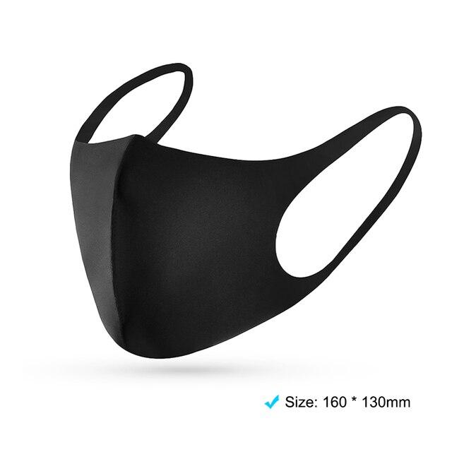 5-100PCS Anti Haze Flu Dust Mask Breathable Unisex Face Mask Reusable Anti Pollution Bacteria Face Shield Wind Proof Mouth Mask 5