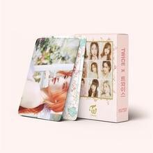 54 шт/компл kpop двойная ломо карта hd Печать Высокое качество