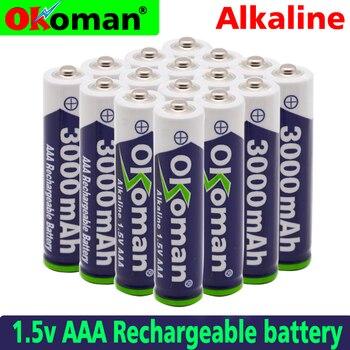 Новый бренд AAA 3000mah 1,5 V Щелочная батарея AAA аккумуляторная батарея для дистанционного управления игрушечная лампа Batery Бесплатная доставка