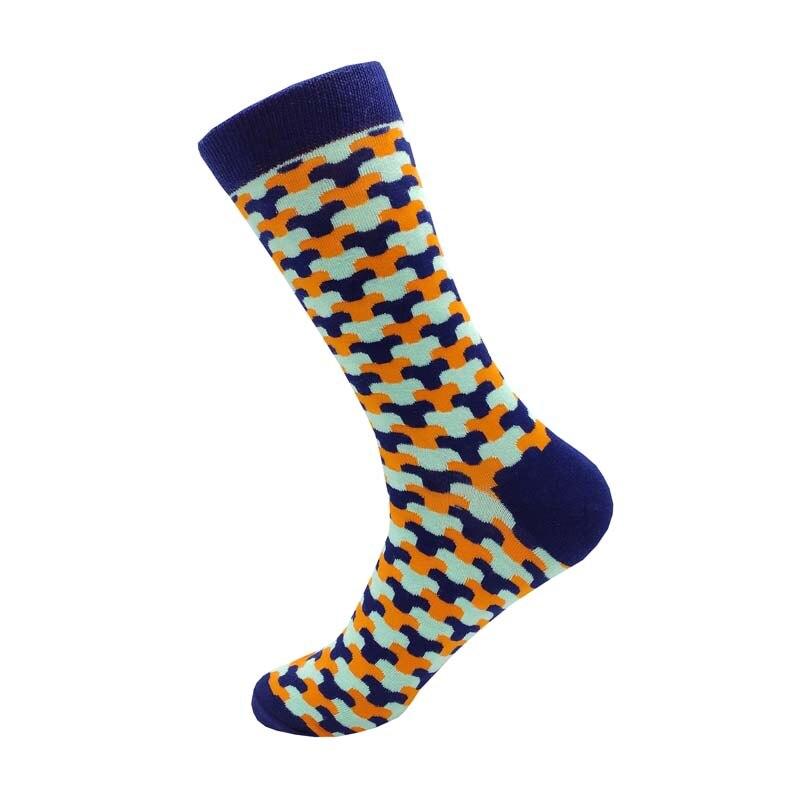 Купить 1 пара белые женские и мужские компрессионные носки в полоску