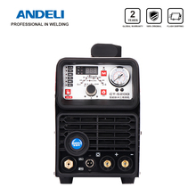 ANDELI الذكية المحمولة مرحلة واحدة آلة لحام CT 520DP 3 في 1 متعددة الوظائف لحام مع قطع/MMA/نبض/ماكينة لحام بغاز التنجستين الخامل آلة لحام