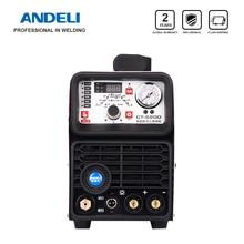 Andeli Smart Draagbare Eenfase Lasmachine CT 520DP 3 In 1 Multi Functie Lasser Met Cut/Mma/puls/Tig Lassen Machine