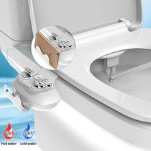 Bidet Mobile-Phone-Holder Self-Cleaning-Nozzle-Spray Toilet-Seat-Attachment Non-Electric