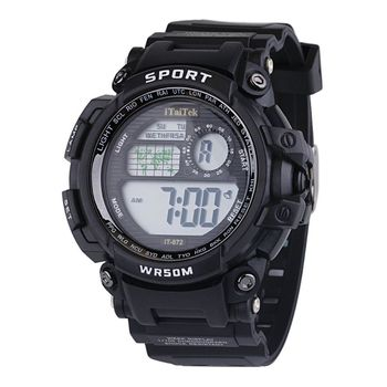 Kids Boys Girls Digital Multi Function Sports Wrist Watch Unisex Children Student Electronic Waterproof Outdoor Watches 19QC pony wrist watch children kids watches boys girls gift electronic digital sports children watch students clock baby unicorn toys