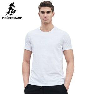 Image 2 - Pioneer Camp 2020 letni t shirt męski marka odzież trwały t shirt z krótkim rękawem męski koszulka na co dzień moda męska