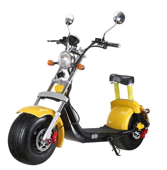 EEC/COC Road Legal 1500W 60V 20AH Removbale Lithium Battery Citycoco Off Road Electric Scooter Ship from Holland|Electric Scooters| |  -