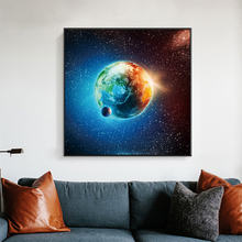 Настенные плакаты с изображением природы галактики звезд планеты