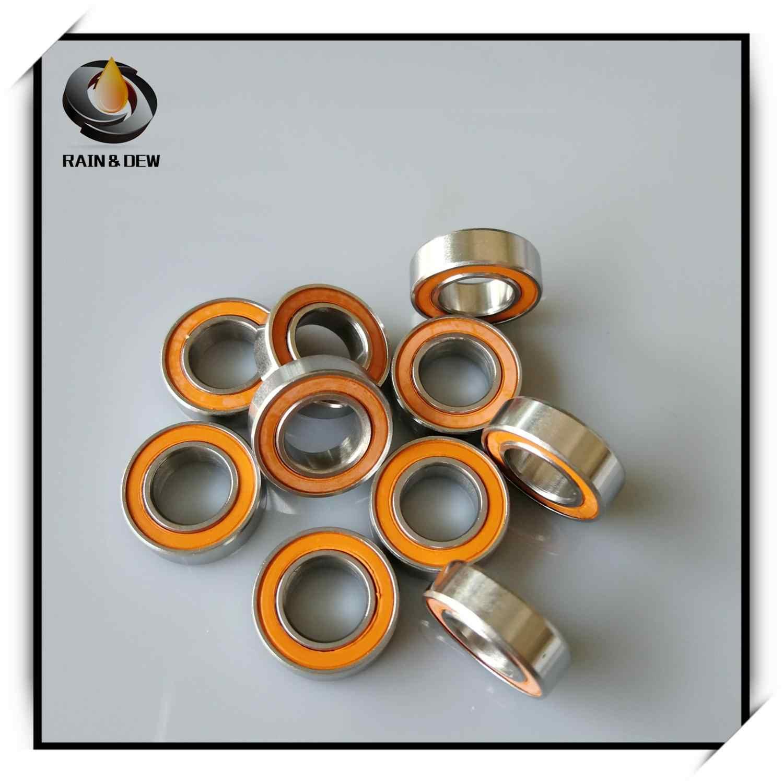 New  2pcs SMR95C-2OS(5*9*3)Stainless steel hybrid ceramic ball bearings
