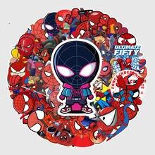 57 шт водонепроницаемые автомобильные наклейки «Человек паук»