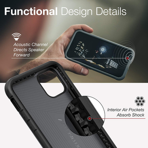 Image 4 - X Doria Defense Lux Phone Case For iPhone 11 Pro Max Military Grade Drop Tested Case Cover For iPhone11 Pro Aluminum Cover Coque