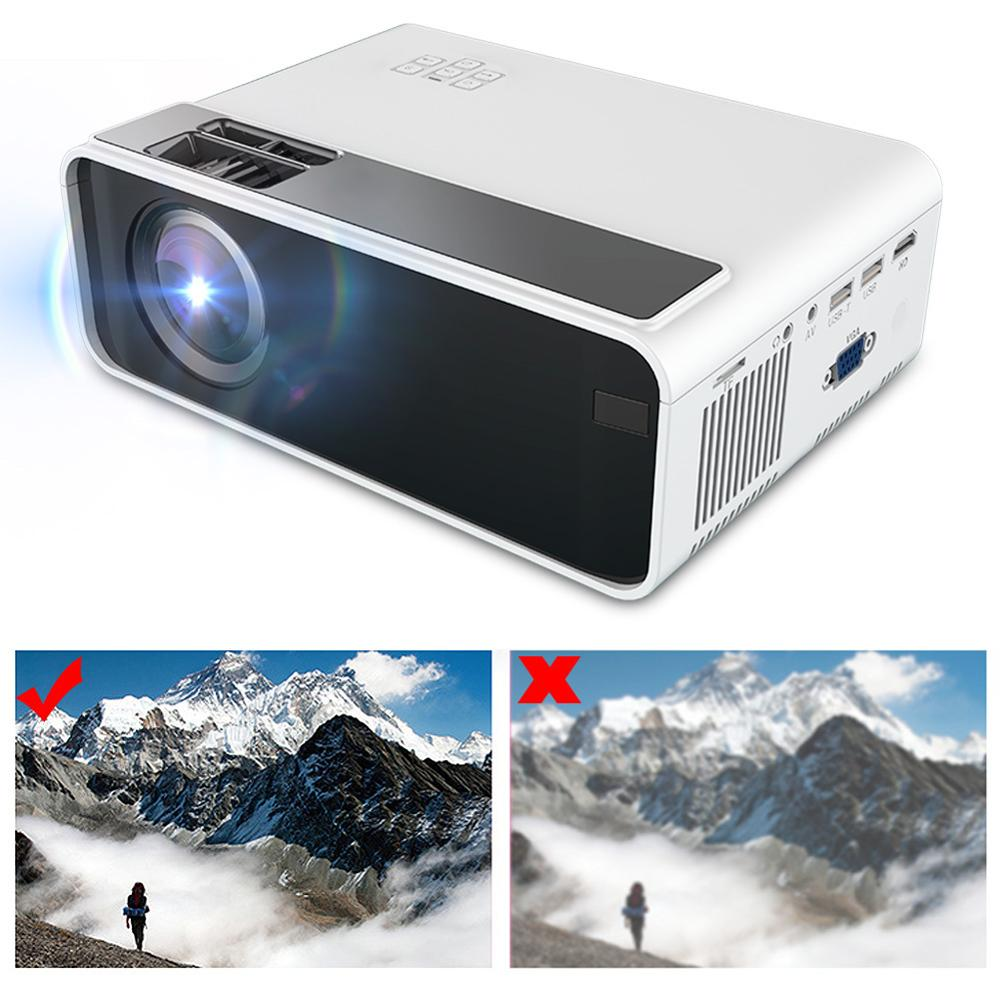 W13 Ultra 3D HD 1080P LED Projector Mini Projector HDMI TV home cinema theatre Multimedia home theater 480P Standard Version