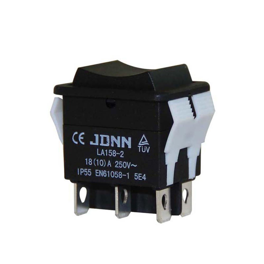 LA158-2 10A 250V Micro Electric Control Switch Assembly Double Reset Switch Waterproof Switchs
