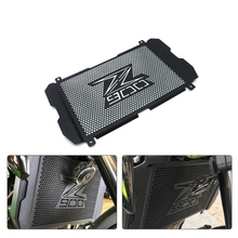цена на Motorcycle Accessories Radiator Grille Cover Guard Stainless Steel Protection Protetor For Kawasaki Z900 Z 900 2017-2019