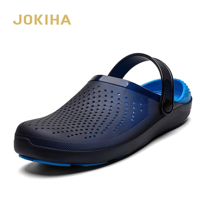 2020 Summer New Men's Clogs Sandals Drop Shipping Beach Slippers For Men Male Footwear Summer Shoes Man Big Size Garden Clog