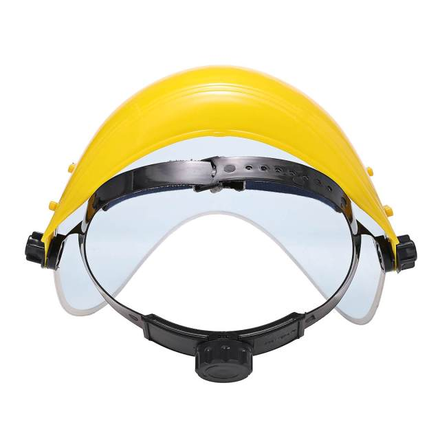 Anti-Saliva Dustproof Mask Transparent PVC Safety Faces Shields Screen Spare Visors Head helmet Respiratory protection mask 3