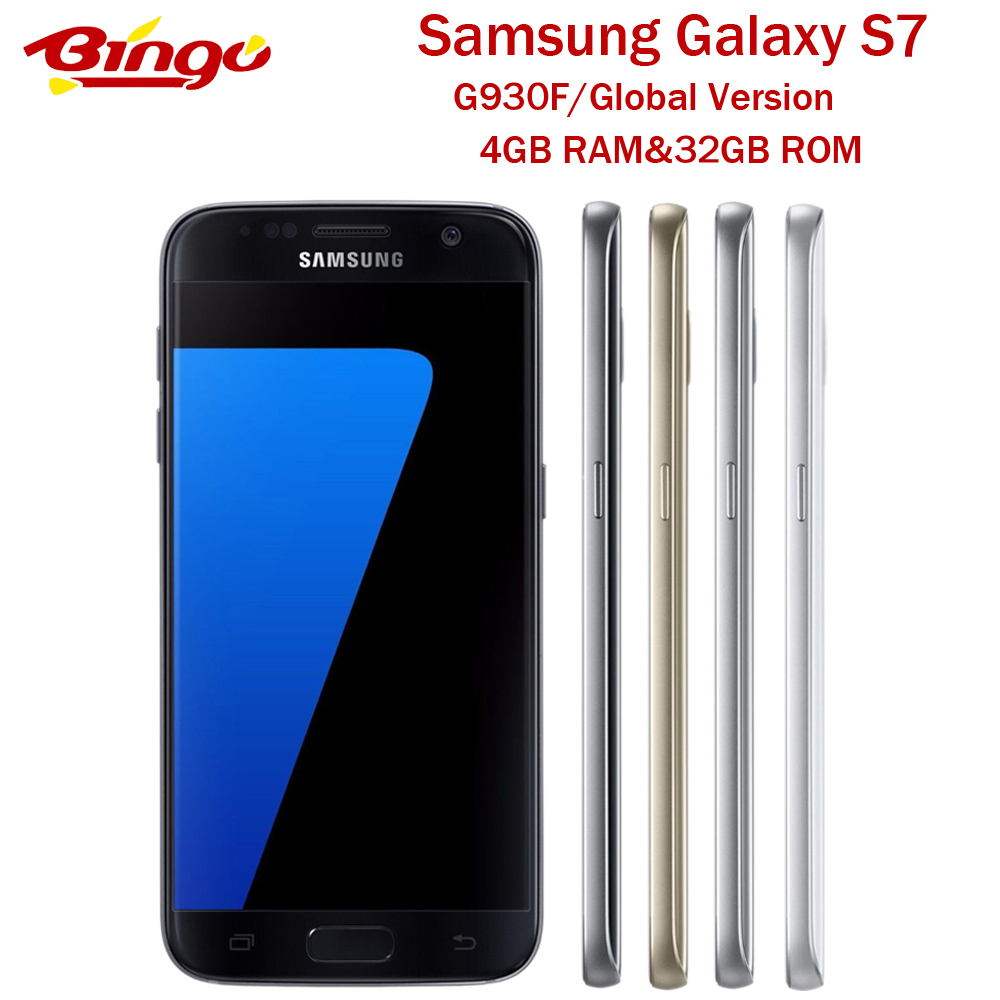 Samsung Galaxy S7 G930F Originele Global Versie Android Telefoon Exynos Octa Core 5.1