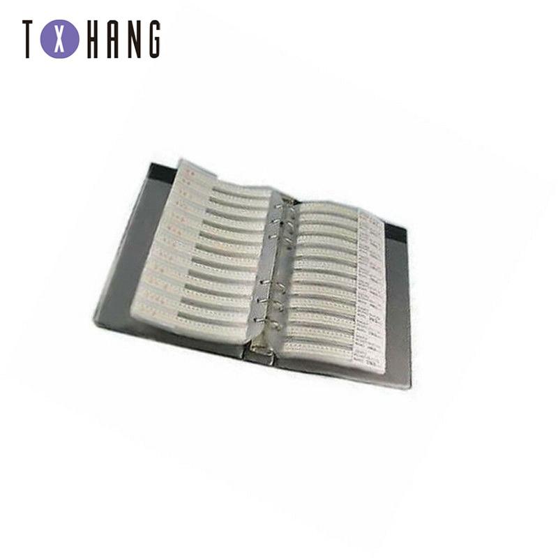 0805 SMD резистор конденсатор Образец книга полная версия ATF diy Электроника