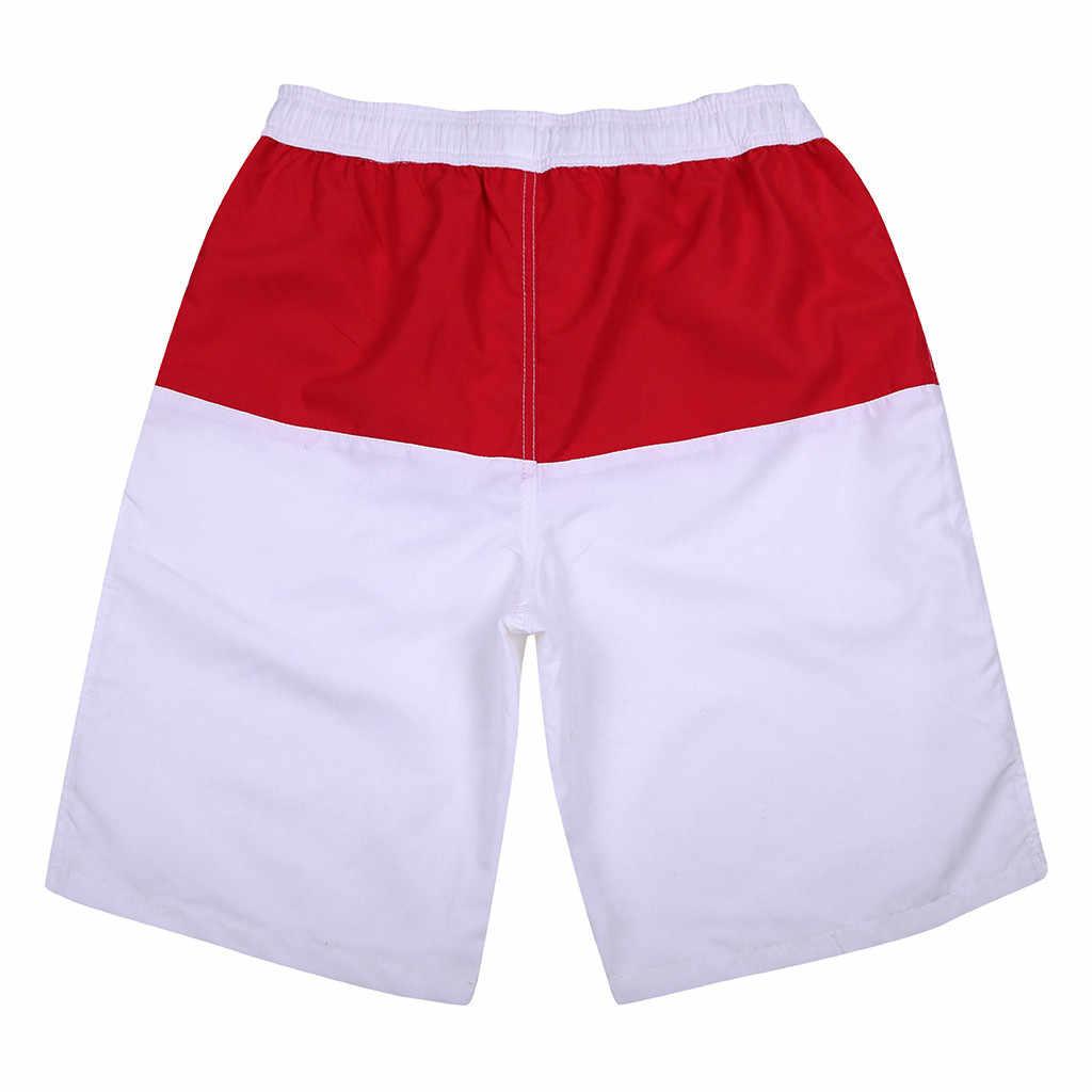 2020 calções de banho dos homens troncos secagem rápida praia surf correndo natação watershort secagem rápida roupas esportivas jogger praia calças curtas