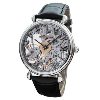 Relojes mecánicos de movimiento de gaviota de moda 50m de zafiro resistente al agua Manual ST36 reloj mecánico hueco para hombre