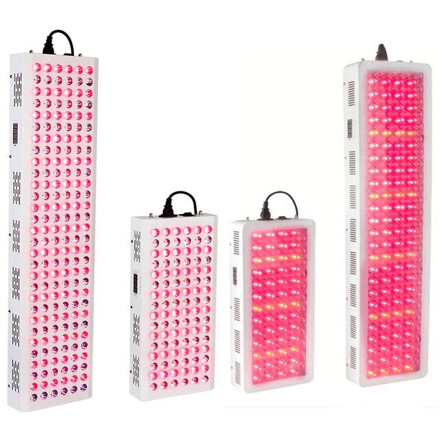 200W 500W  900W 1000W 630nm 660nm Red Light Therapy 810nm 830nm 850nm Infrared LED Light Therapy Full Body, Red LED Grow Light