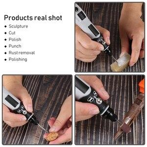 Image 5 - Electric grinder tool set usb rechargeable grinding machine Engraving,  grinding, drilling, derusting, polishing