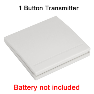 Image 2 - GERMA 86 Wall Panel Wireless Remote Transmitter 1 2 3 Button RF Switch For Light Lamp Bulb Home Living Room Bedroom Corridor