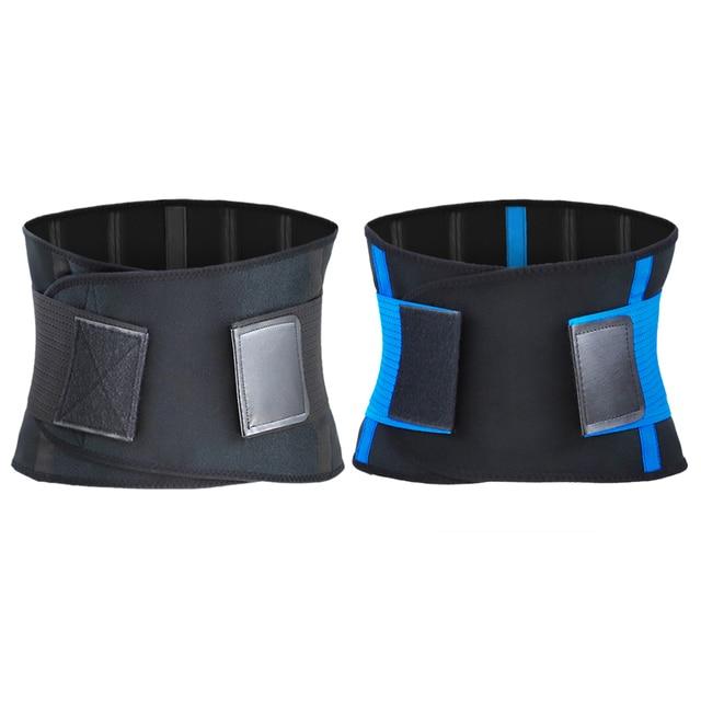 Adjustable Waist Back Support Waist Trainer Trimmer Belt Sweat Utility Band for Sport Gym Fitness Weightlifting Tummy Slim Belts 3