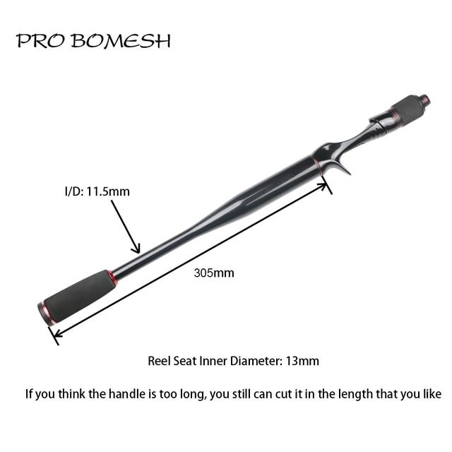 Amazing No. 1 Pro Bomesh Taper Carbon Tube EVA Cork Grip Section Casting Rod Fishing Rods cb5feb1b7314637725a2e7: 2A Grade Cork Set|EVA Set