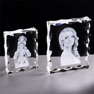Image 5 - Foto Nach Kristall Foto Rahmen Personalisieren Laser Gravierte Foto Album Platz Bild Hochzeit Geschenk für Gäste Souvenir Geschenk