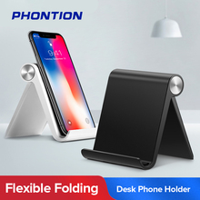 Phone Holder Stand Mobile Smartphone Support Tablet for iPhone 11 X Xr Samsung S9 S10 A50 Desk Cell Phone Portable Mobile Holder mini phone ring finger ring holder metal phone stand mount smartphone holder for xiaomi samsung s10 tablet mobile phone portable