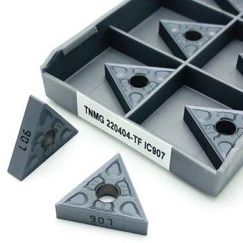 Turning Inserts TNMG220408 TF IC907/IC908 external turning tool carbide insert CNC lathe TNMG 220408 cutting tools