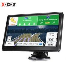 XGODY araba Navigator GPS araç 7 inç 8GB HD ekran araba GPS navigasyon ses İstemi kamyon navigasyon amerika ücretsiz harita 2020