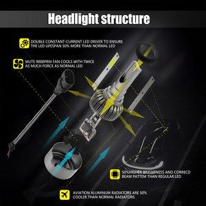 Image 5 - Ampoules pour voitures, phares de voiture, étanches IP68 CSP LED k 6000 DC 12V 24V LED degrés 9200LM, 2 pièces, 55W D2S D2C D2R D4S D4C D4R