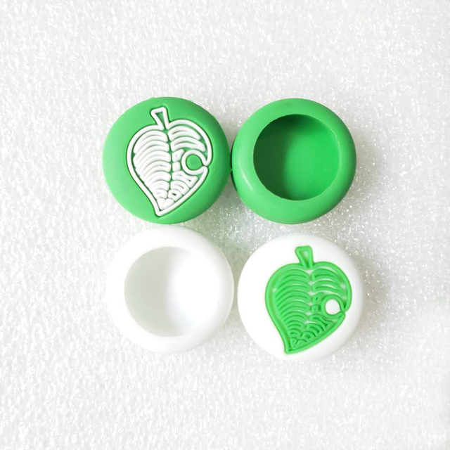 Tree Leaf Leaves Animal Crossing Thumb Stick Grip Cap Joystick Cover For Nintend Switch Lite Joy-Con Controller Thumbstick Case