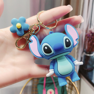 Disney children doll pendatn Mickey mouse Donald Duck keychain bag pendant small gift bag Keychain pendant Event souvenirs