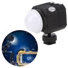 Orsda SL 19 Diving Video Light Underwater Camera Flash 60M Waterproof Diving Fill Light 2000LM for Gopro 9 8 7 6 for SLR Camera