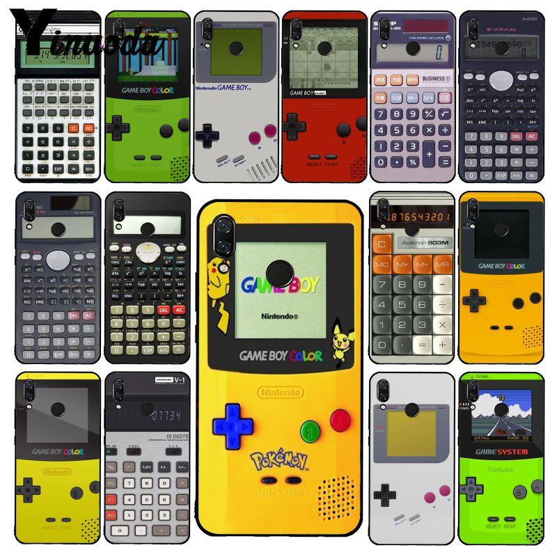 Yinuoda Gameboy Game Boy Calculator Phone Case for Xiaomi Redmi8 4X 6A S2 Go Redmi 5 5Plus Note8 Note5 7 Note8Pro image