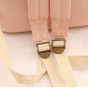 Image 5 - NuFangU Simple Design Oxford Korea Style Women Backpack Fashion Girls Leisure Bag School Student Book Teenager Useful Travel