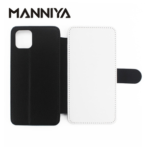 Image 1 - MANNIYA Leeg Sublimatie TPU + PU leather Cover voor iphone 11/11 PRO/11 PRO MAX/6 7 8 X XS XR XS MAX met card houders 10 stks/partij