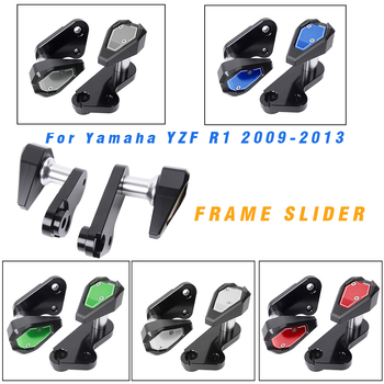 Motorcycle Engine Frame Sliders Crash Falling Protectors for Yamaha YZF R1 YZFR1 YZF-R1 2009 2010 2011 2012 2013 Accessories