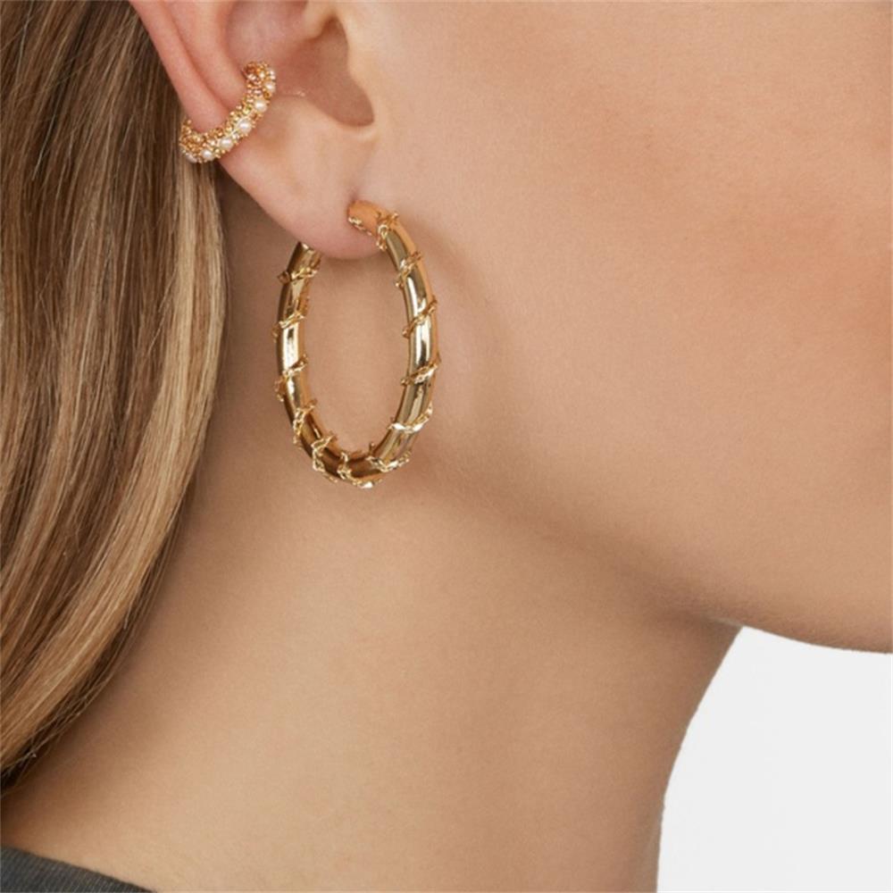 1Pc Elegant Crystal Earrings Cubic Zirconia Ear Cuff for Women Small C Shape Ear Cuff Colorful Rhinestone Clip Earrings Jewelry