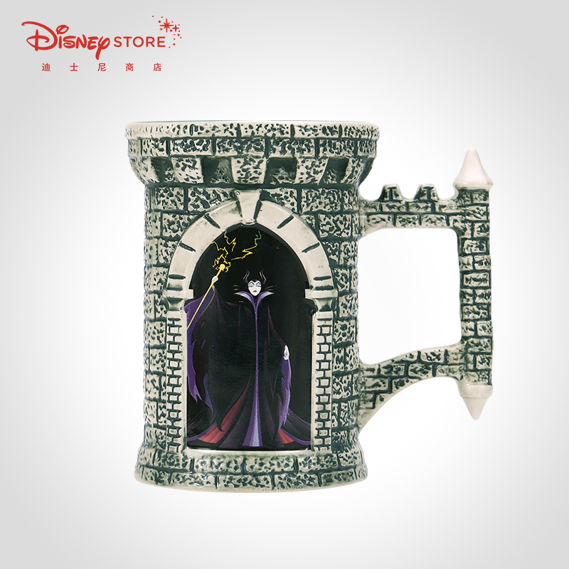 400ml Disney Sleeping Beauty Princess Sleeping Curse Ceramic Cup Coffee Milk Tea Breakfast Water Cup Festival Gifts Mug