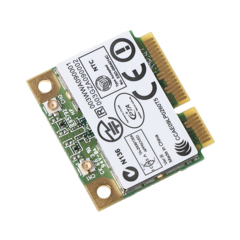 For Atheros AR9287 AR5B97 Wireless Adapter 300Mbps Mini Half PCI-E Wifi Card PXPE