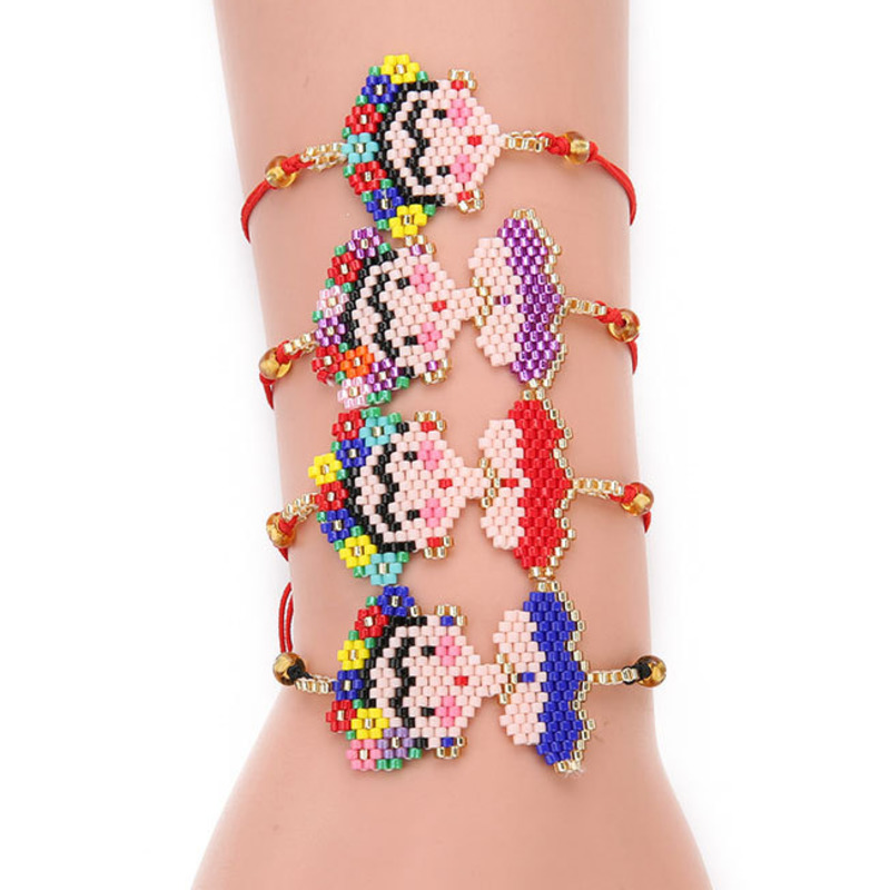 XUXI Japan Rice Beads Fashion Charms Bracelet 2020 Women Cartoons Hand Made Simplicity Bijoux Femme Couple Bracelets SS022